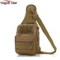 Vogue Star Men Messenger Bags Chest Pack Multifunctional Shoulder Bag Crossbody Equipment LA24