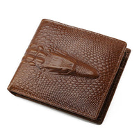 JINBAOLAI Brand Men Wallets Cow Leather Credit ID Card Holder Billfold Purse Men Bifold Wallet Mens Purse carteras mujer#YW