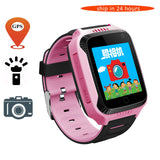 2017 New Q528 Y21 Touch Screen Kids GPS Watch with Camera Lighting Smart Watch Sleep Monitor GPS SOS Baby Watch PK Q60