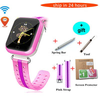 GPS Smart Watch Q750 Q100 Baby GPS Smart Watch With 1.54 inch Touch Screen SOS Call Location Device Tracker for Kid Safe PK Q80