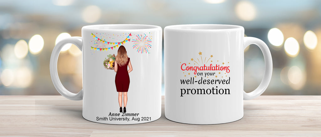 Personalized Colleague/Friend Job Promotion Gifts