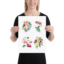 Flowers Museum Poster – Beautiful Flowers (No Frame)