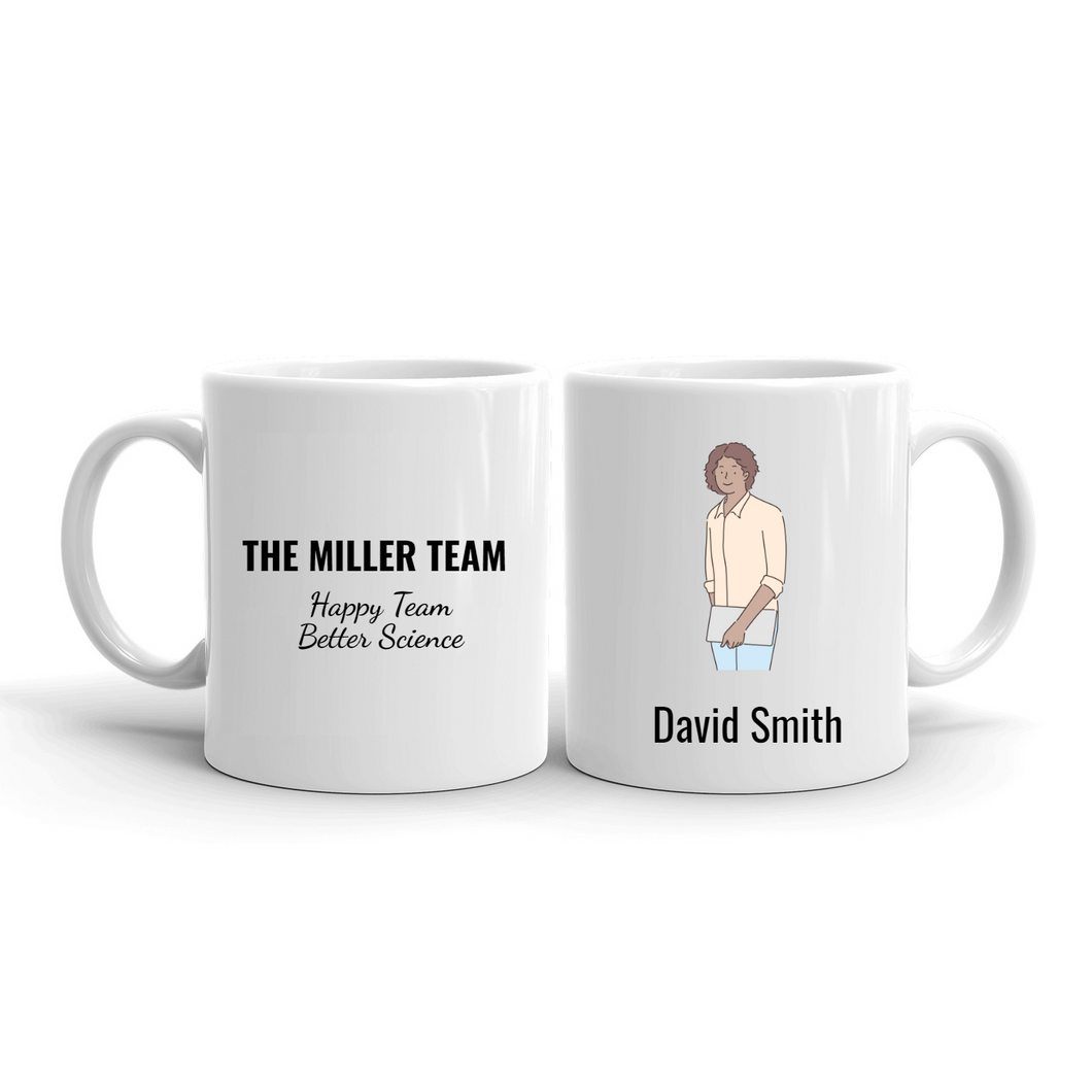 Personalized Team Mugs – Character