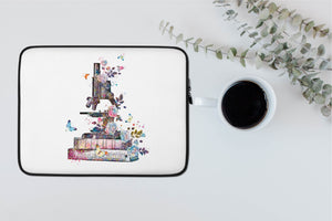 Laptop Case - Microscope