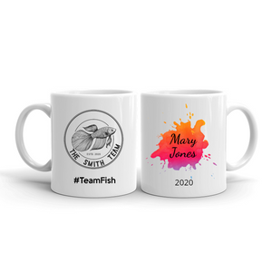 Personalized Team Mugs - Splash With Your Own Team Image