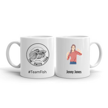 Personalized Team Mugs – Character With Your Own Team Image
