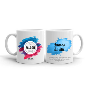 Personalized Team Mugs - Splash