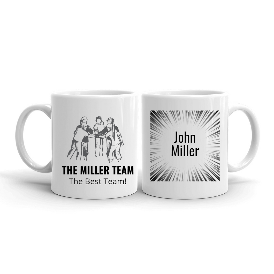 Personalized Team Mugs – Unity