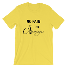 No Pain, No Champagne