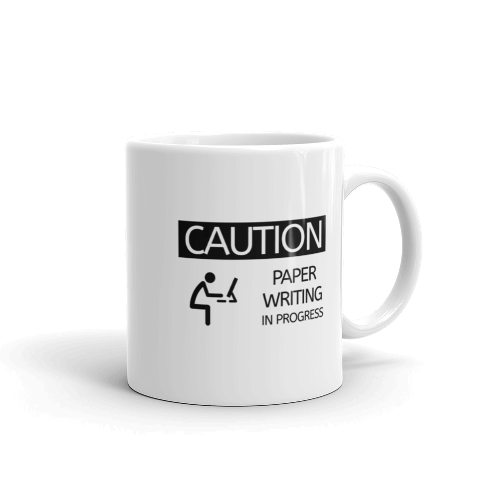 Paper Writing in Progress Mug