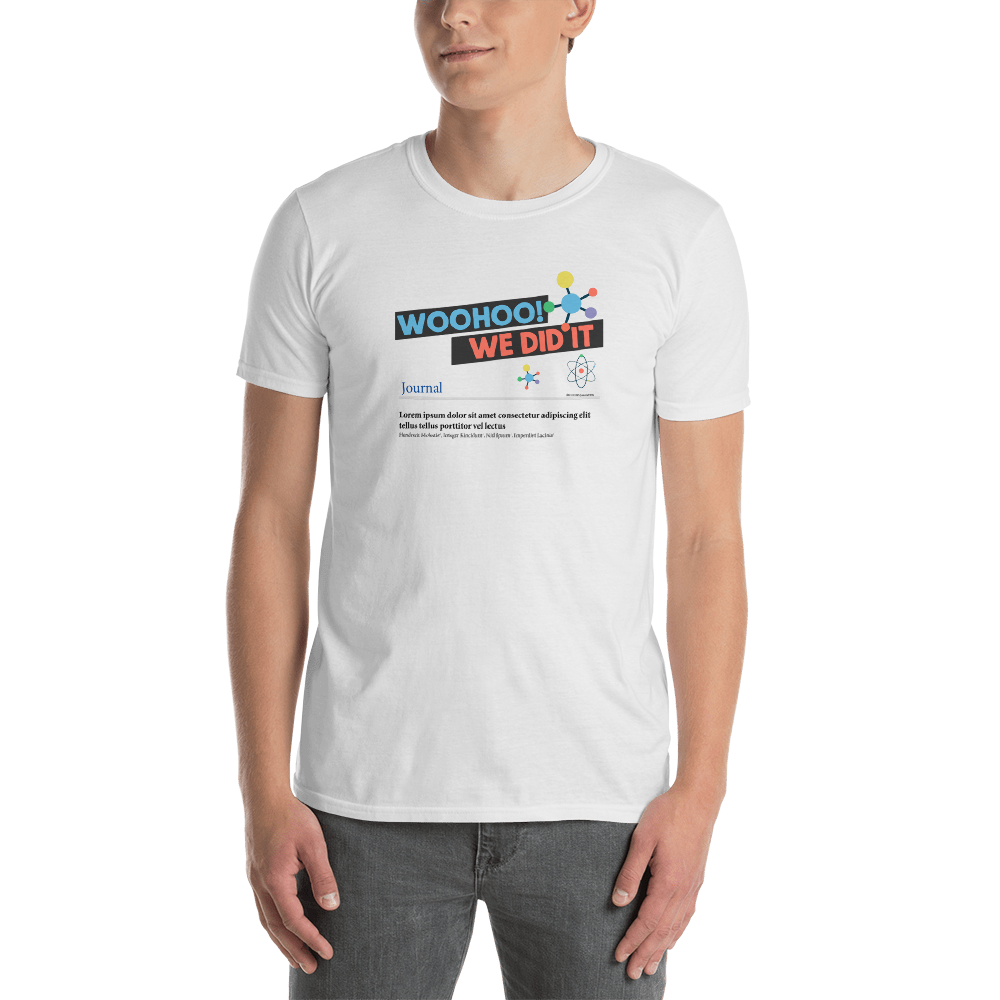 We Did It! Men's short sleeve t-shirt