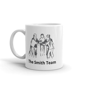 Personalized Team Mugs – Name 2