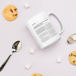 Custom Message Mug