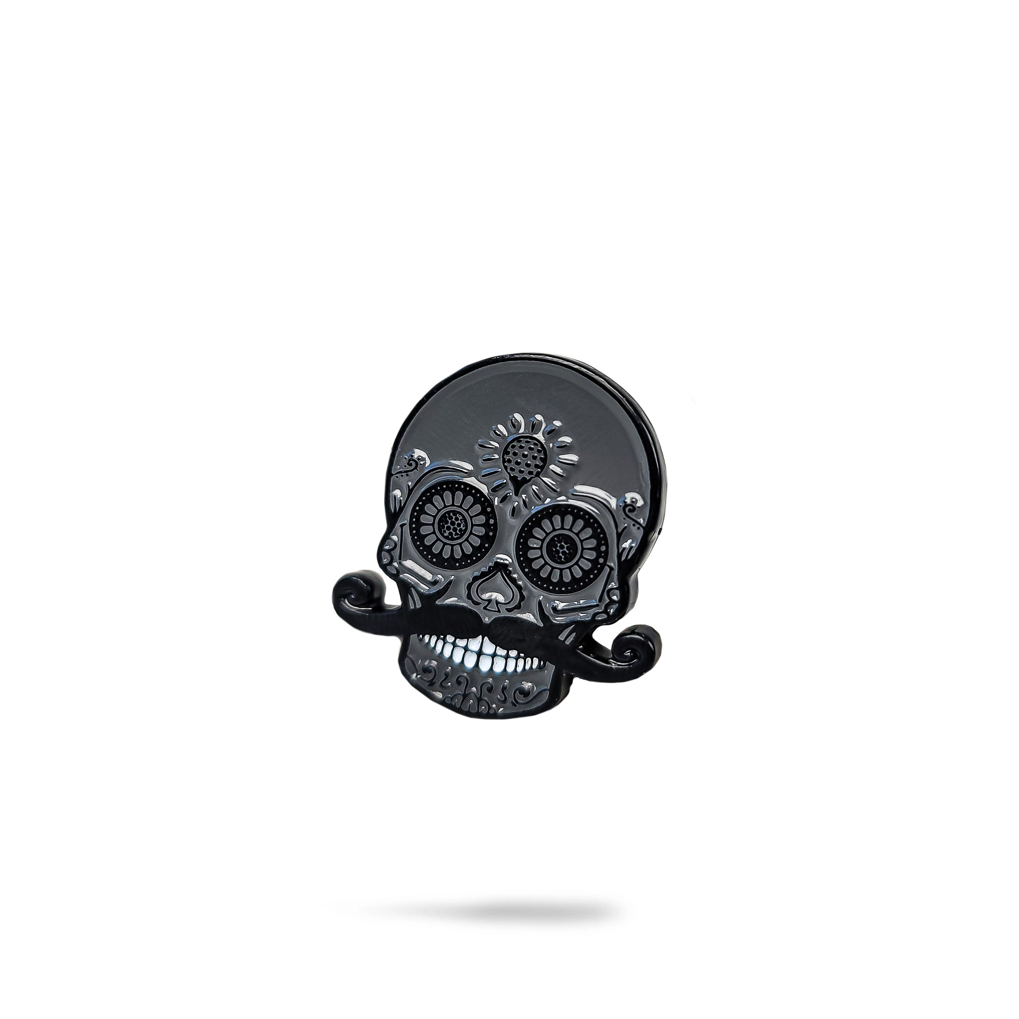 Blackout Sugar Skull Ball Marker