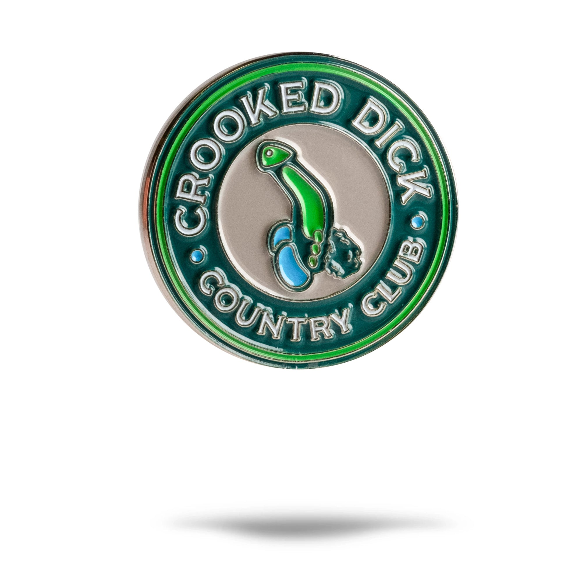 Crooked Dick CC Ball Marker