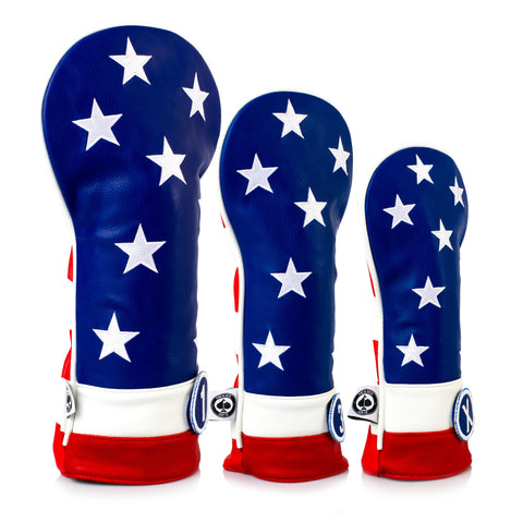 USA Tribute Headcover Set