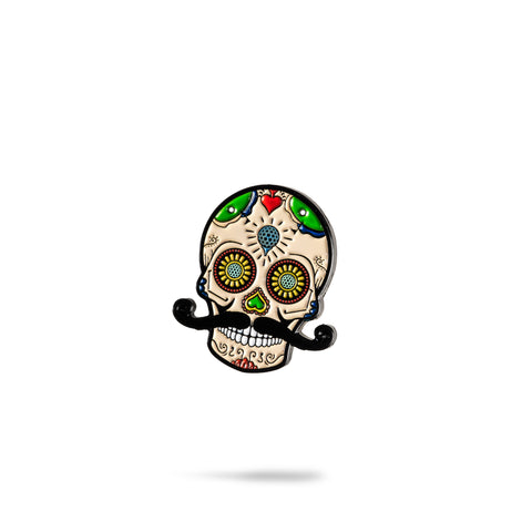 Sugar Skull Ball Marker