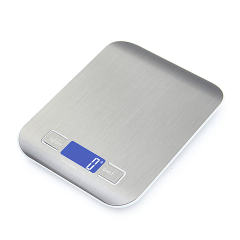 Professional Touch Digital Kitchen Scale / LCD Display & Stainless Steel Platform