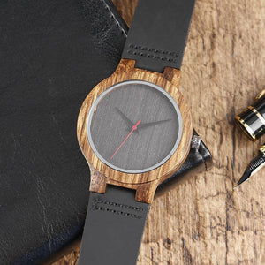Reloj Quartz Wooden Nature - Bamboo Edition