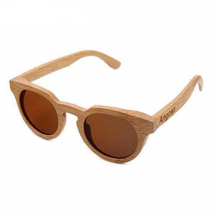 Gafas Retro Wood - Bamboo Edition