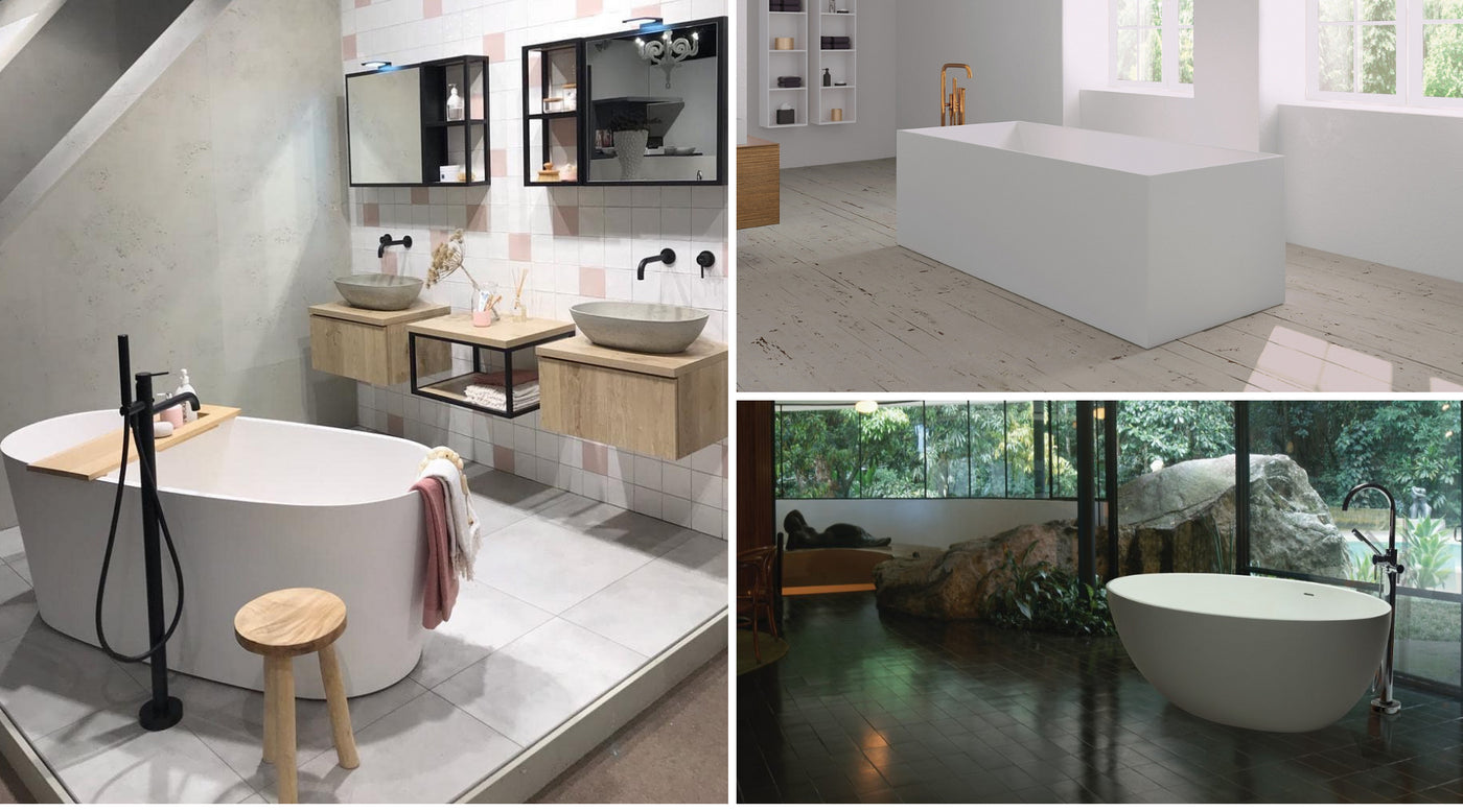 Stone baths| Freestanding Baths|Solid Surface Baths| Australia