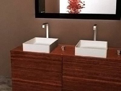 Solid Surface Stone Basin