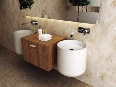 Poly Marble Wall Hung Basin