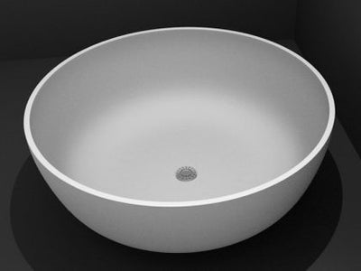 Silvia ST13 1350mm, 1500mm round stone baths
