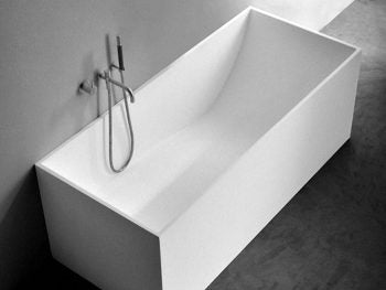 white Stone bathtubs