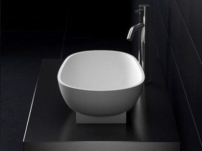 Gemma Natural Stone Basin STB04 600mm