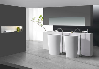 Solid Surface Freestanding Basins