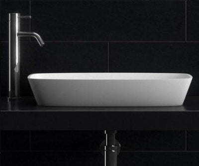 Lucia Natural Stone Basin STB09 600mm - 1 only at this price!