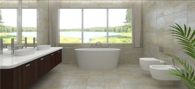 Toka lite stone baths