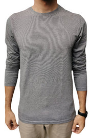 Long Sleeve Light Grey T-Shirt