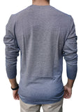 Long Sleeve Dark Grey T-Shirt - Hillmarten