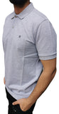 Men's Regular Fit Half Sleeve White Polo Shirt - Hillmarten