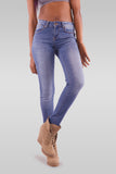 Women Slim Fit Blue Jeans - Hillmarten