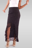 Maxi Black Skirt - Hillmarten