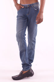 Men's Slim Fit Blue Jeans