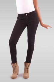 Women Slim Fit Black Jeans
