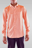 Men's Full Sleeve Light Brown Shirt - Hillmarten