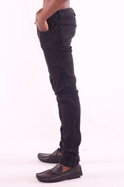 Men's Slim Fit Black Jeans