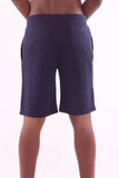 Men's Casual Hillmarten Print Navy Blue Short - Hillmarten