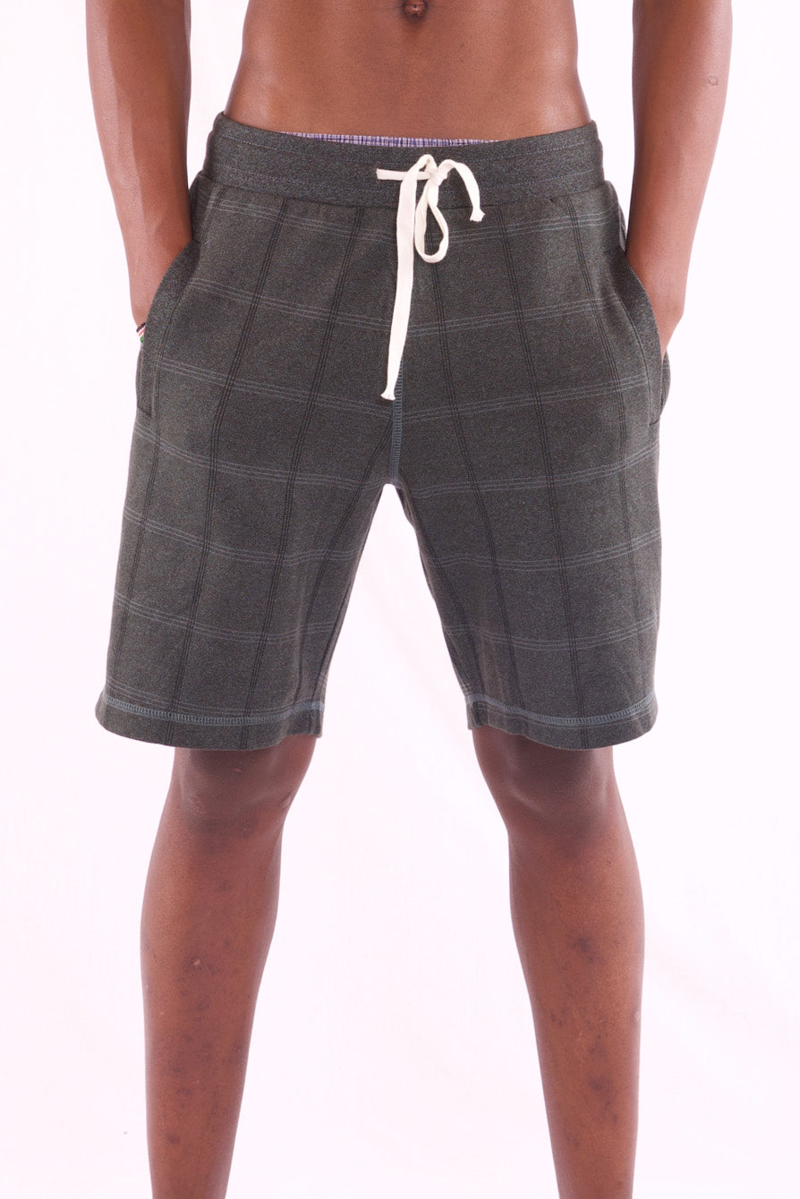 Men's Classic Casual Dark Green Short - Hillmarten