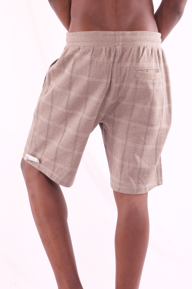 Men's Classic Casual Beige Short - Hillmarten