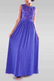 Women's Maxi Blue Dress