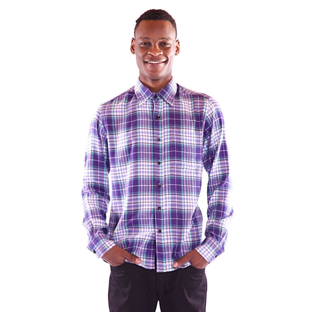 Men's Full Sleeve Multi Colour Shirt - Hillmarten