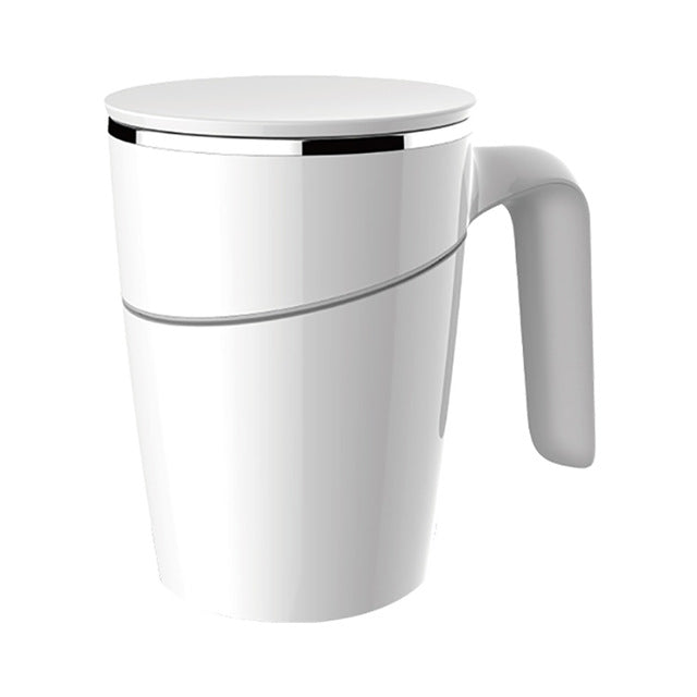 Splash Proof 304 Magic Fiu Non-slip Sucker Pouring Cup 470ml Stainless Innovation Not Double Insulation ABS Magic Non-slip Cup - Hillmarten