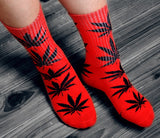 Winter high Quality Harajuku chaussette Style Weed Socks - Hillmarten