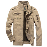 Cotton Military Jacket Men 2020 Autumn Soldier  MA-1 Style Army Jackets Male Brand Slothing Mens Bomber Jackets Plus Size M-6XL - Hillmarten
